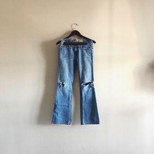 Distressed Hollister Jeans Denim